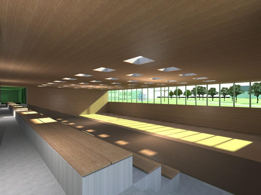 sportzentrum mitte bfa b ro f r architektur. Black Bedroom Furniture Sets. Home Design Ideas