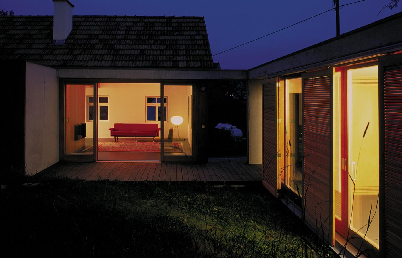 wohnhaus m bfa b ro f r architektur. Black Bedroom Furniture Sets. Home Design Ideas