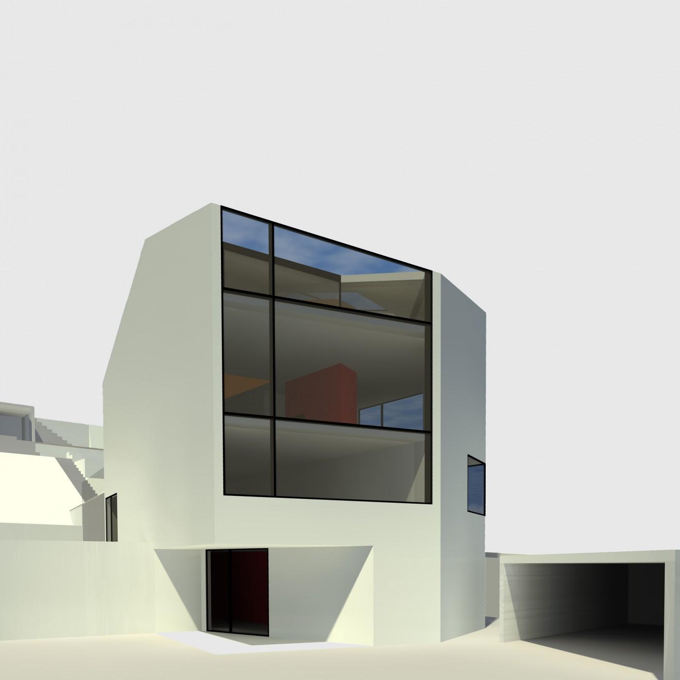 wohnhaus ek bfa b ro f r architektur. Black Bedroom Furniture Sets. Home Design Ideas