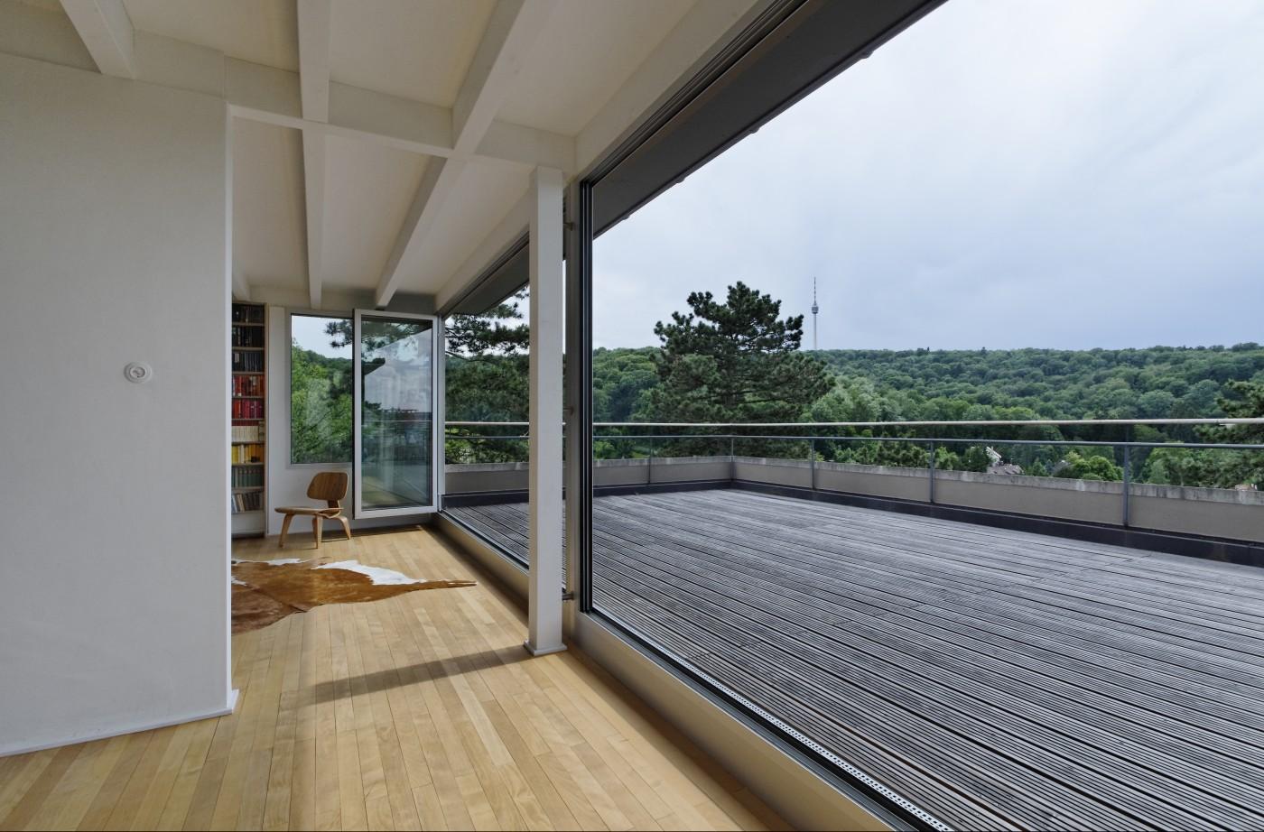 wohnhaus f bfa b ro f r architektur. Black Bedroom Furniture Sets. Home Design Ideas