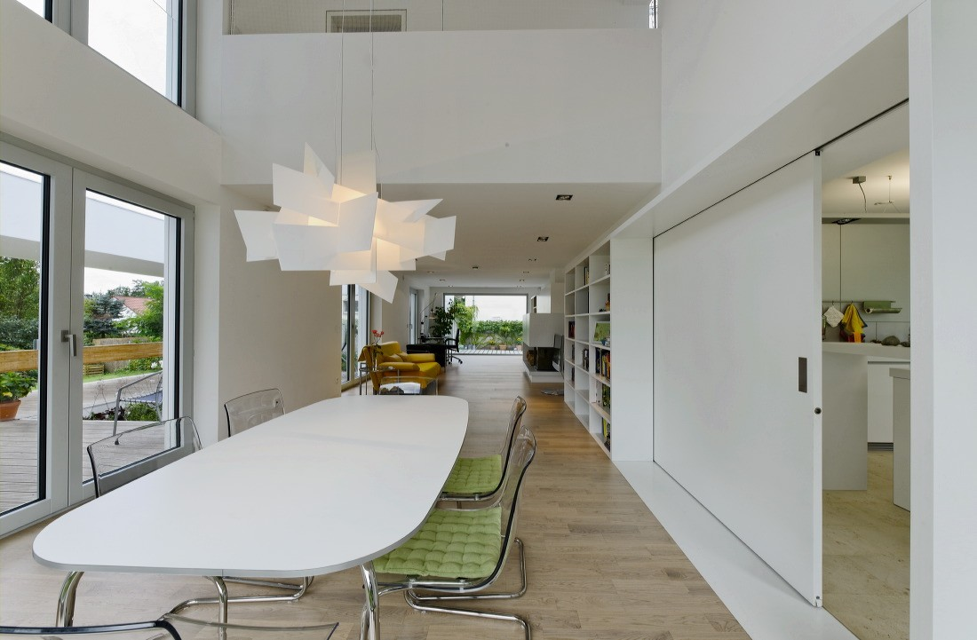 wohnhaus h bfa b ro f r architektur. Black Bedroom Furniture Sets. Home Design Ideas